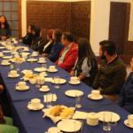 Encuentro entre docentes colombianos y chilenos se desarrolló en la Casa del Maestro