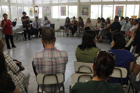 Profesores de Independencia avanzan en acciones tras robo de sus portafolios y evaluaciones docentes