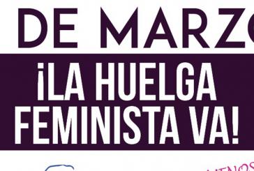 Convocatoria a gran marcha de mujeres para este 8 de marzo