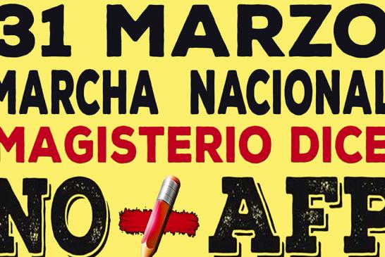 Convocatoria a marcha contra las AFP este domingo