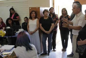 Visita de apoyo y reconocimiento a docentes de Escuela Reina de Suecia de Maipú