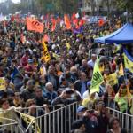 Miles marchamos contra las AFP y el proyecto del Gobierno