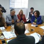 Reunión gestionada por el Regional Metropolitano congrega a profesores, Seremi y Alcaldesa de Lampa ante crisis comunal