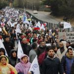 Histórica marcha a Valparaíso fuerza al Gobierno a volver a mesa negociadora