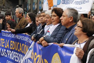 Más de 75.000 profesores llenan la Alameda en Marcha Nacional