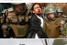 Colegio de Profesores denuncia graves hechos de represión en todo Chile