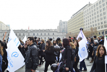 Histórico: Más de 10000 personas en marcha regional por segundo día de paro indefinido en Santiago