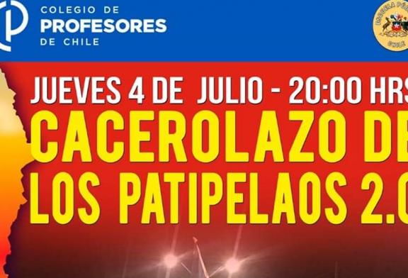 Se convoca a Cacerolazo 2.0 para este jueves