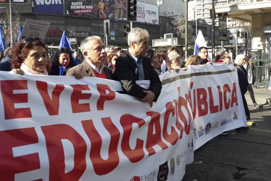 Más de 50 mil marchan por la Educación marcando nueva semana de Paro del profesorado