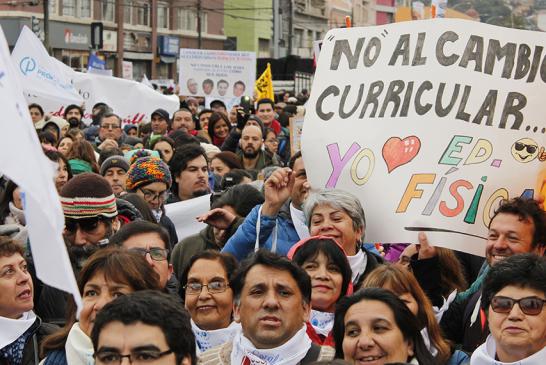 Carta de las y los profesores a la ciudadanía