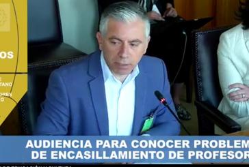 Pdte. Metropolitano expone dificultades con CPEIP ante Comisión de Educación del Senado