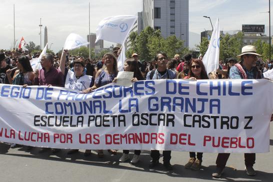 Unidad Social convoca a huelga general para este 23 y 24 de octubre