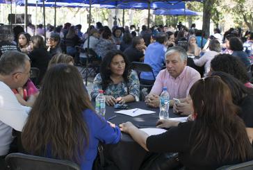 Cientos participaron en cabildo ciudadano de educación organizado por el Colegio de Profesores