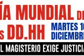 Convocatorias docentes en Día Internacional de los DDHH