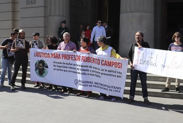 Corte de Apelaciones de San Miguel libera a profesor Roberto Campos
