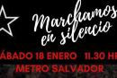 Marcha del silencio contra la represión marcará el tercer mes del despertar nacional