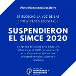 ¡Lo logramos! Se suspende el SIMCE 2020 y se reemplaza por prueba optativa y muestral