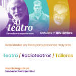 Convenio con Teatro a Mil desde el Departamento de Profesores Jubilados