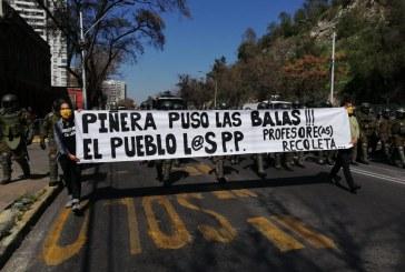 Profesores de Recoleta solidarizan con familiares de presos políticos de la revuelta