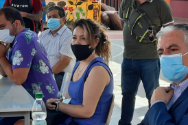 Pdta Metropolitana acompaña constitución de mesa de trabajo Covid en SLE Gabriela Mistral