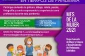Bases para concurso artístico por el Mes de la Mujer