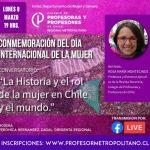 Charla sobre la historia del feminismo en un nuevo 8 de marzo