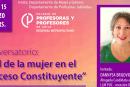 Conversatorio vía Zoom: El rol de las mujeres en el proceso constituyente