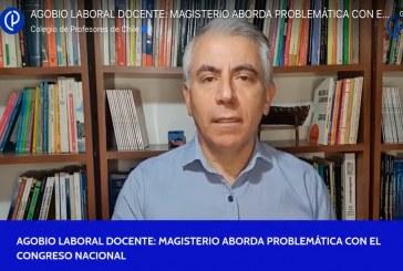 Agobio Laboral Docente: Magisterio aborda problemática con el Congreso Nacional