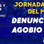 Jornada Nacional del Magisterio – Denunciamos el Agobio Laboral Docente