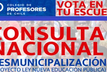"""Con gran interés se desarrolla la Consulta Nacional sobre proyecto de """"Desmunicipalización"""""""