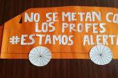 Movilizaciones: 'Campanazos' se hacen sentir en establecimientos de toda la Región Metropolitana