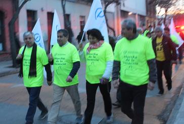 Delegación de profesores de todo Chile inician caminata 'de la decencia' hacia Valparaíso