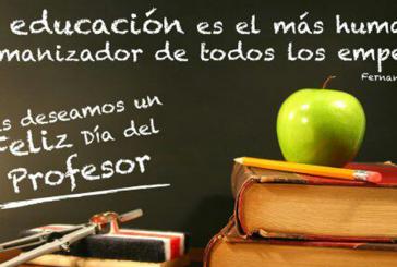 ¡Feliz día profesores y profesoras!