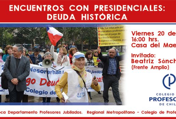 Conversatorios con presidenciables continúa: Beatriz Sánchez nos visitará este viernes
