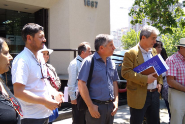 """Profesores entregan carta de protesta ante Consejo de Defensa del Estado por """"presiones indebidas"""" ante Tribunales"""