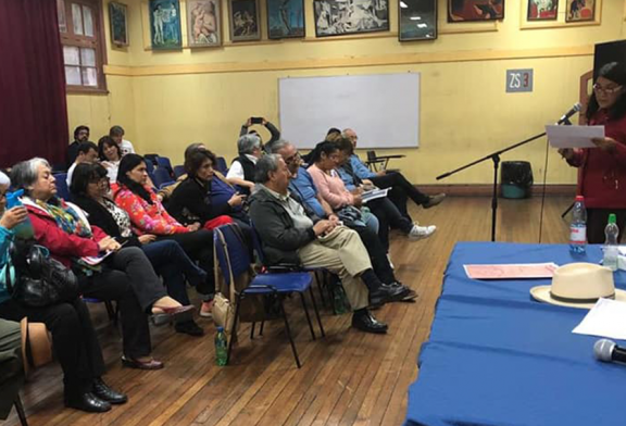 Con creciente participación se desarrolla el Congreso Estatutario en la Región Metropolitana