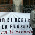 """Presencia del Regional Metropolitano en charla de Michael Apple y asamblea """"Filosofía en la calle"""""""