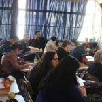 Carlos Díaz Marchant inicia charlas pedagógicas sobre mapamundi de Arno Peters