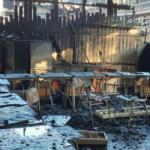Incendio en Liceo de Isla de Maipo despierta solidaridad en docentes