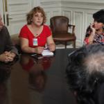 Trabajadores de Lampa se reúnen con Senadora Provoste ante deudas y crisis municipal