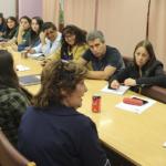 Reunión con docentes de Pudahuel y problemas en SLE Barrancas