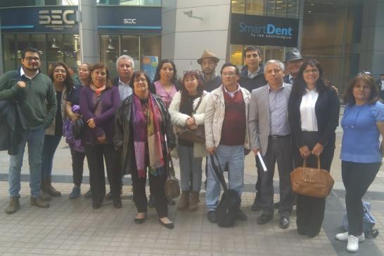 Dirigentes de comunales del SLE Gabriela Mistral presentan inquietudes ante la DEP