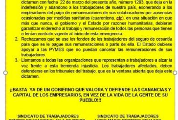 Sindicatos de Isla de Maipo rechazan dictamen de Dirección del Trabajo