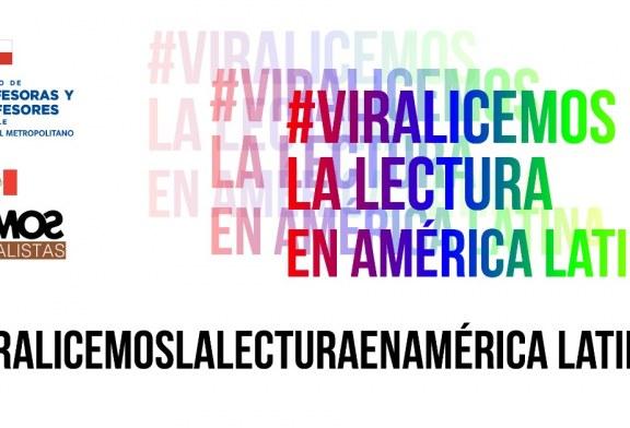 """Colegio de Profesores Metropolitano y Escuelas Normales de México convocan a """"Viralizar la lectura"""""""
