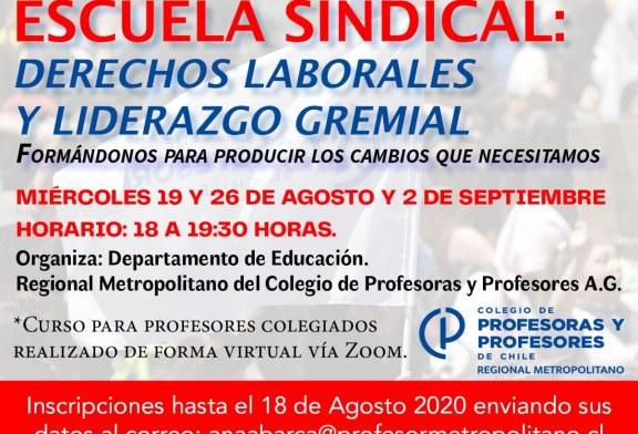 Nueva Escuela Sindical 2020