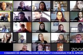 Surge Comando de Movimientos Sociales y Ciudadanos por el Apruebo y la Convención Constitucional