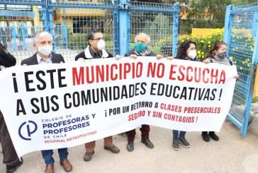 Pirque se rebela: No llegan estudiantes a clases presenciales forzadas desde la Alcaldía y el Mineduc