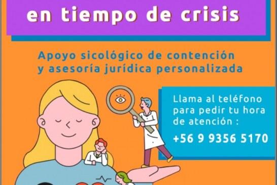 Contención psicológica y asesoría jurídica personalizada