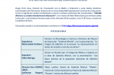 """CONVERSATORIO: """"Gabriela Mistral y su amplia mirada hacia la Educación"""""""